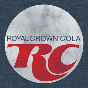 Royal Crown Cola Logo T-Shirt - Indigo