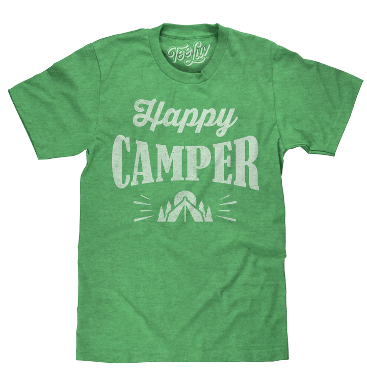 Happy Camper T-Shirt - Green