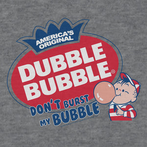 Dubble Bubble Don't Burst My Bubble T-Shirt - Gray