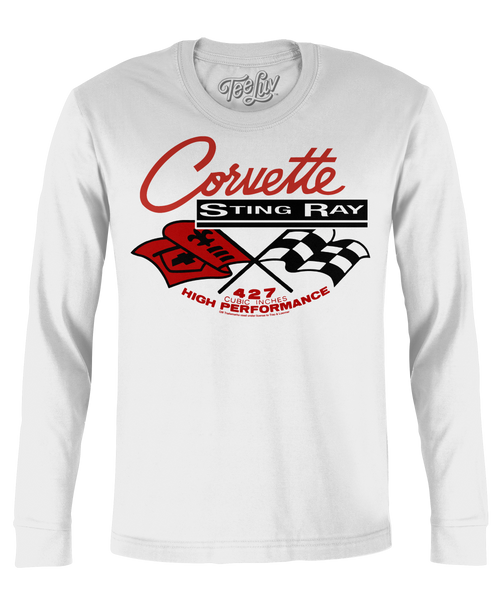 Corvette Stingray Long Sleeve Tee