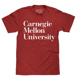Carnegie Mellon University T-Shirt - Red