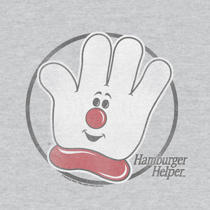 Hamburger Helper Logo T-Shirt - Gray