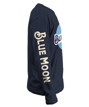 Blue Moon Long Sleeve T-Shirt - Navy