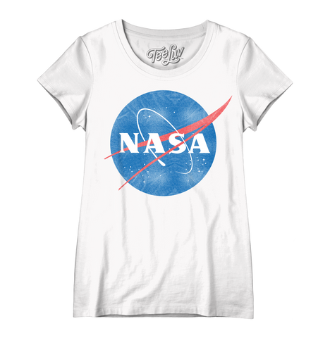 Women's Vintage NASA Logo