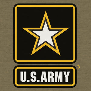 US Army Logo T-Shirt - Olive Green