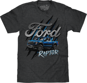 Ford F-150 Raptor T-Shirt - Gray