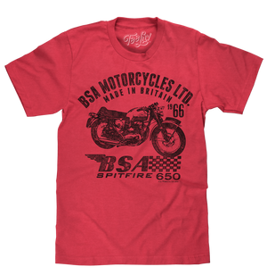BSA Spitfire T-Shirt - Red