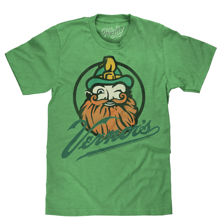 Vernor's Gnome Logo T-Shirt - Green