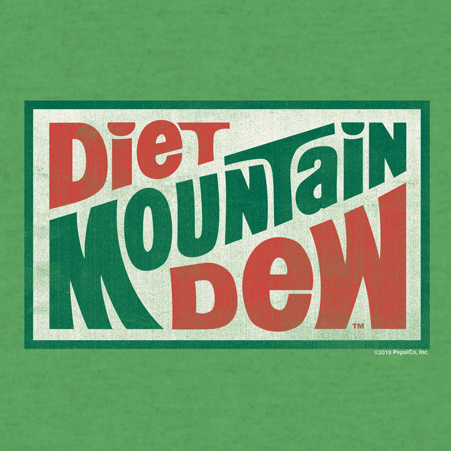 Diet Mountain Dew T-Shirt - Kelly Green