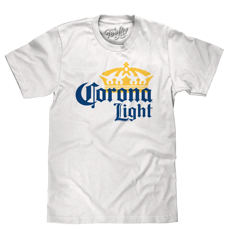 Corona Light Logo T-Shirt - White