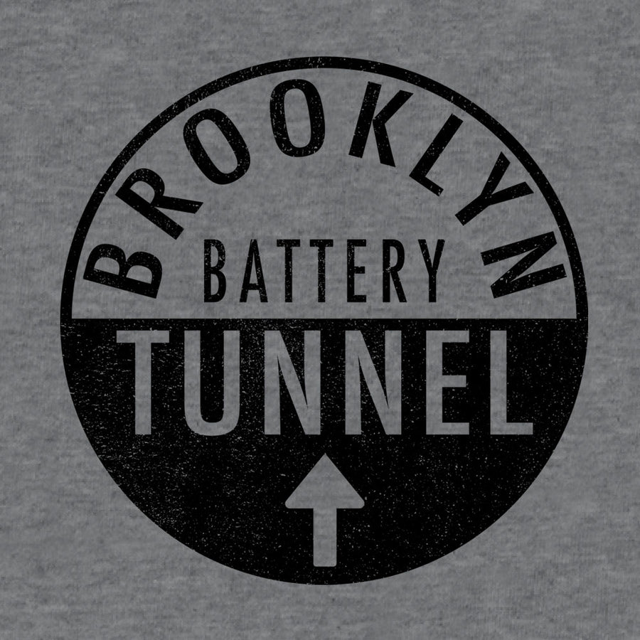 Brooklyn Battery Tunnel T-Shirt - Gray