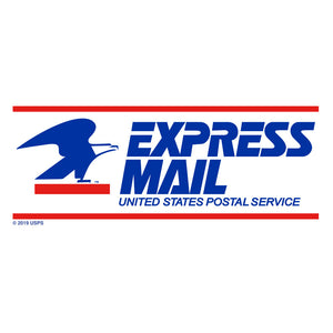 United States Postal Service Express Mail T-Shirt - White