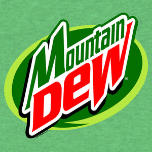 Mountain Dew Logo Big & Tall T-Shirt - Kelly Green Heather