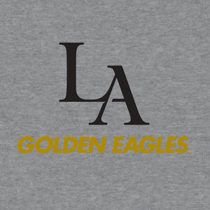 Cal State Los Angeles Golden Eagles Hooded Sweatshirt - Gray