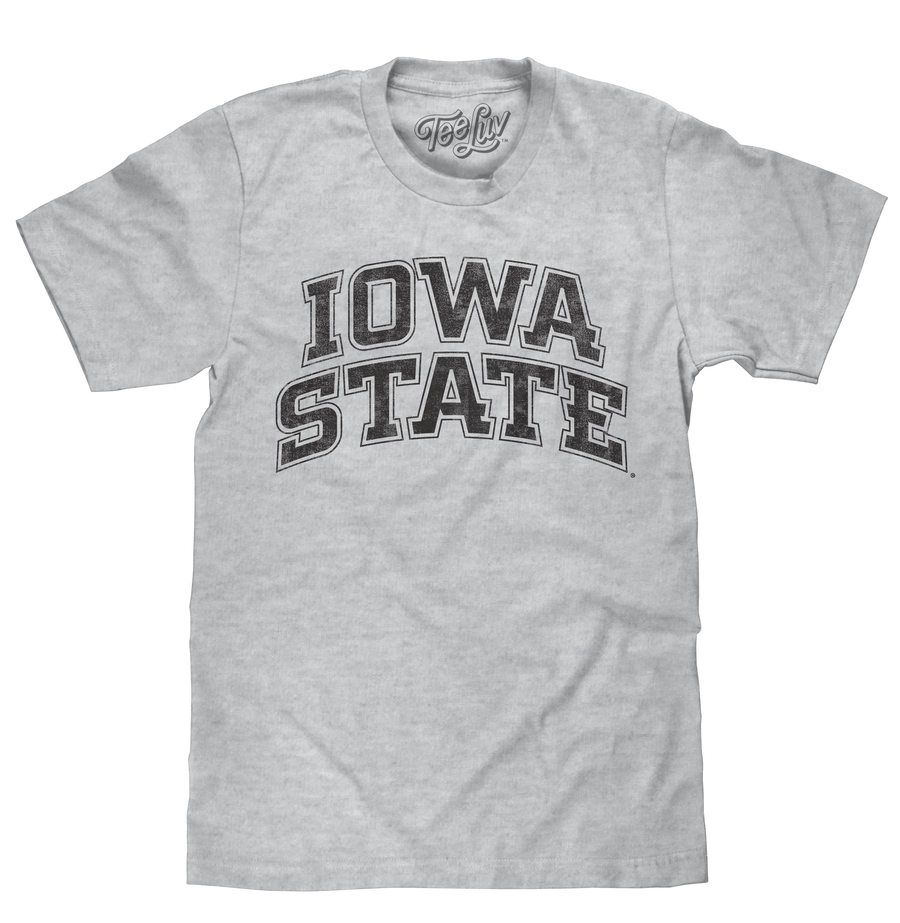 Iowa State University T-Shirt - Gray