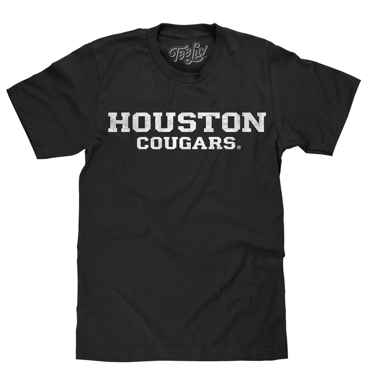 University of Houston Cougars T-Shirt - Black