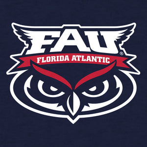 Florida Atlantic University Owls T-Shirt - Navy Blue