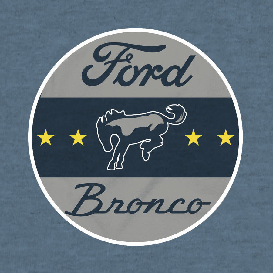Ford Bronco Logo T-Shirt - Indigo Heather