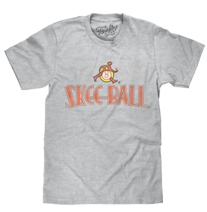 Retro Skee Ball Arcade Game T-Shirt - Athletic Gray Heather