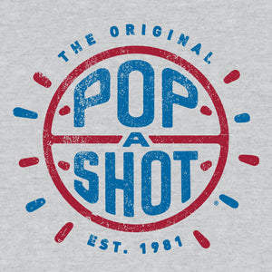 Pop-A-Shot Arcade Basketball Game T-Shirt - Gray