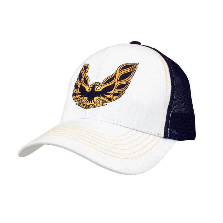 Pontiac Firebird Trucker Hat - White and Black