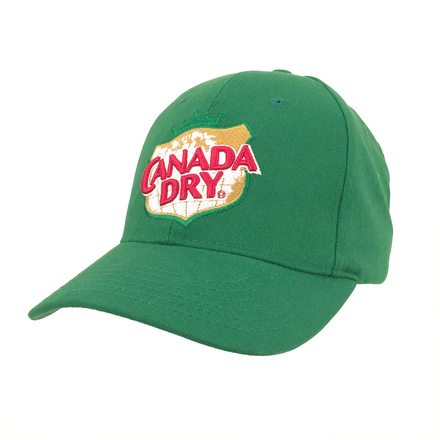 Canada Dry Ginger Ale Logo Hat - Green