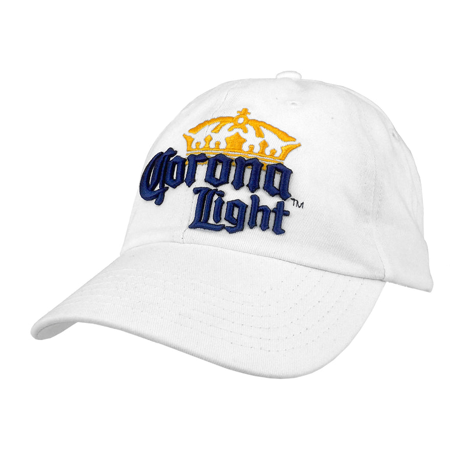Corona Light Logo Hat - White