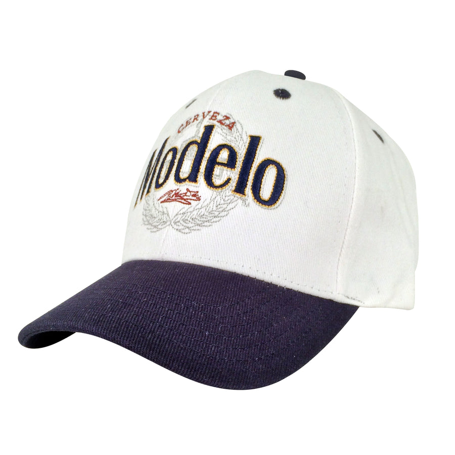 Cerveza Modelo Beer Hat - White and Navy