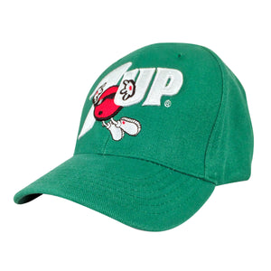 7UP Soda Logo Hat - Green