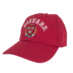 Harvard University Veritas Baseball Hat - Red