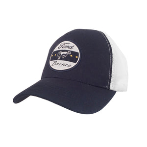 Ford Bronco Trucker Hat - Navy and White
