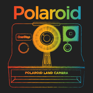 Polaroid OneStep Land Camera T-Shirt - Black