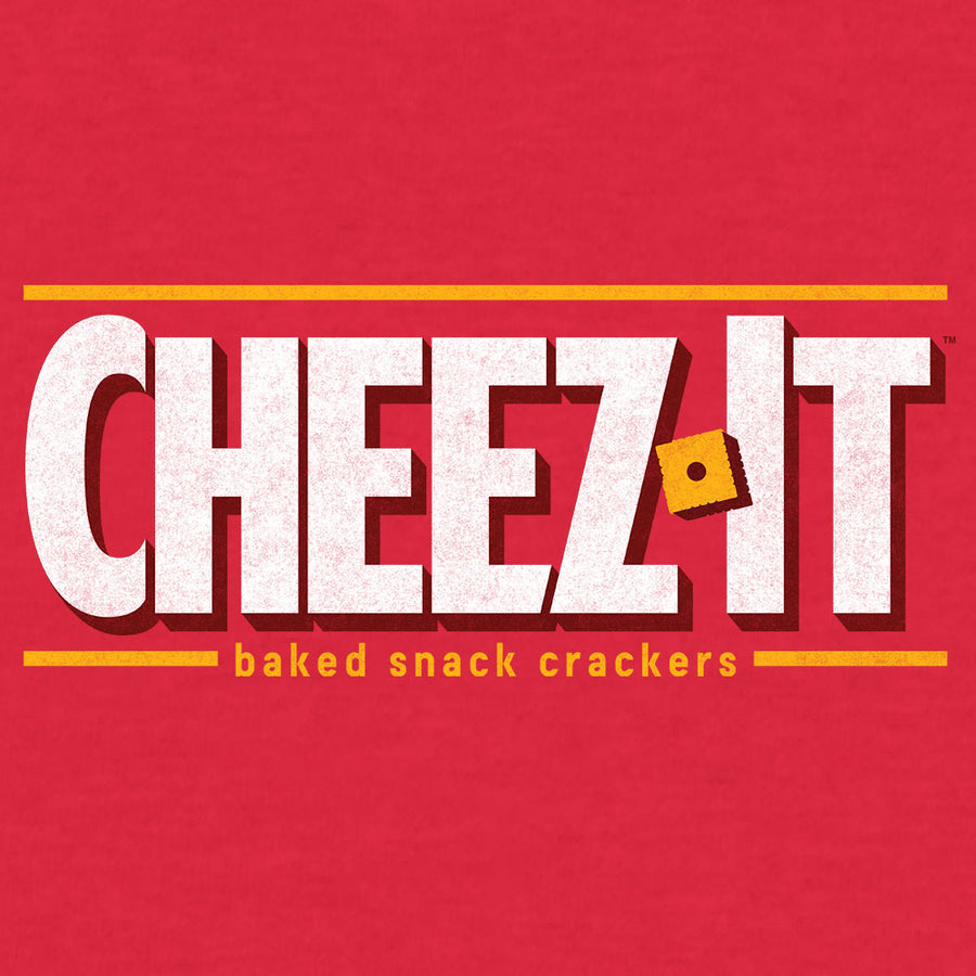 Cheez-It Logo T-Shirt - Red