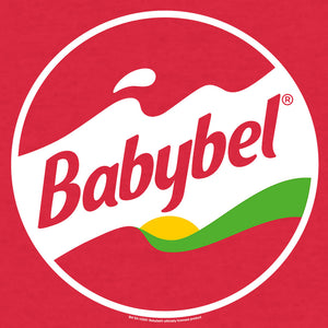 Babybel Snack Cheese Logo T-Shirt - Red Heather