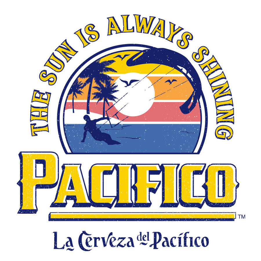 La Cerveza Del Pacifico Beer T-Shirt - White
