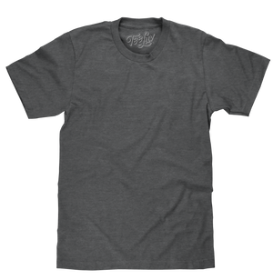 Charcoal Heather Blank T-Shirt - Gray