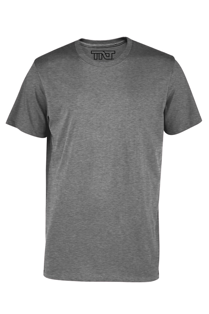 Graphite Heather Short Sleeve T-Shirt - Gray