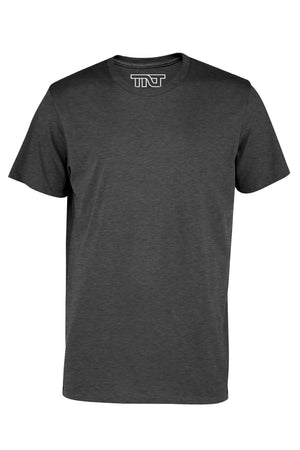 Charcoal Heather Short Sleeve T-Shirt - Gray