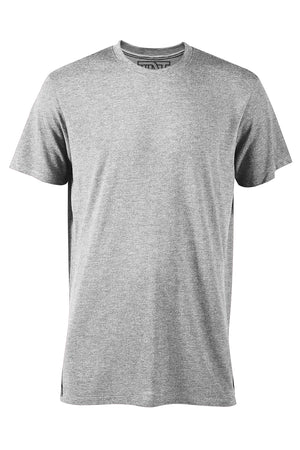 Athletic Heather Short Sleeve T-Shirt - Gray
