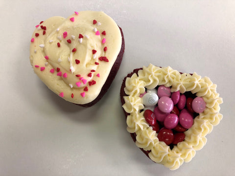 Valentine Cupcakes Four Pack