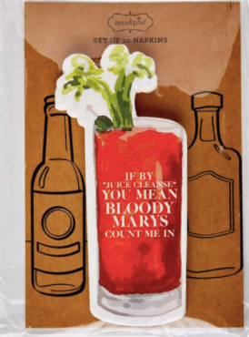 Bloody Mary Napkin Set
