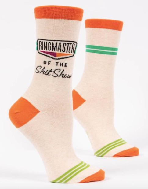 Ringmaster of the Shit Show Women's Socks by Blue Q