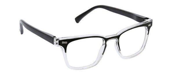 Peepers Strut Reading Glasses - Black/Clear