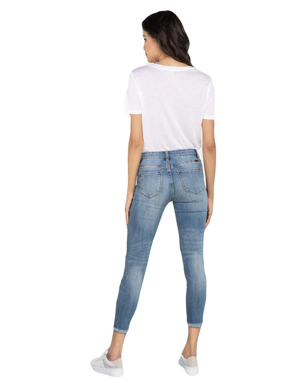 Tufal Mid Rise Skinny Ankle Jean