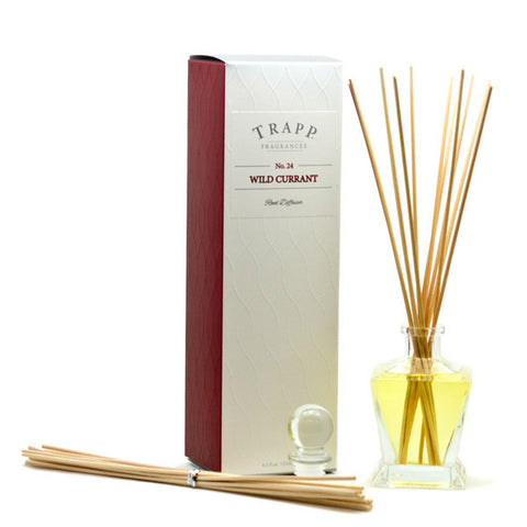 Trapp Reed Diffuser Kit - Wild Currant