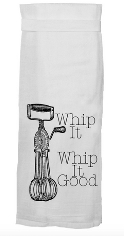 Whip It, Whip It Good Dish Towel