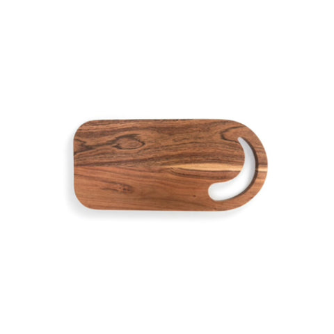 Wood Serving Board with Round Handle
