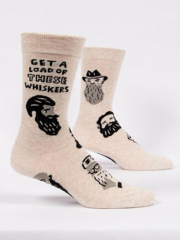 Get a Load of These Whiskers Men's Socks by Blue Q