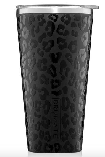 BruMate Imperial Pint - Onyx Leopard