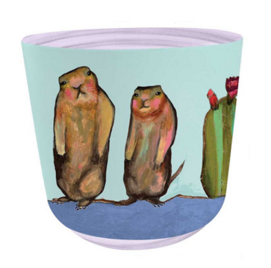 Prairie Dog Plant Pot